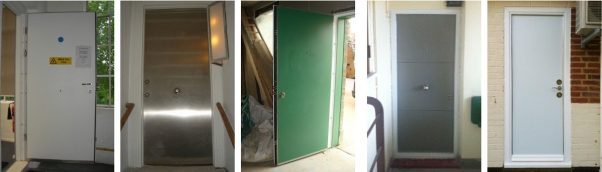 Bespoke Domestic And Commercial Door / Panic Room Level 3