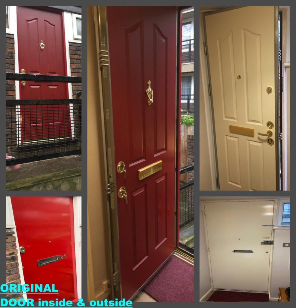 Our recent Titan Steel door installation in London, N19 ...